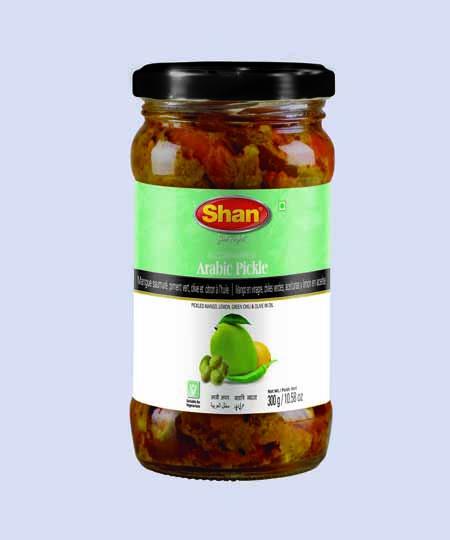 Shan Arabic Pickles