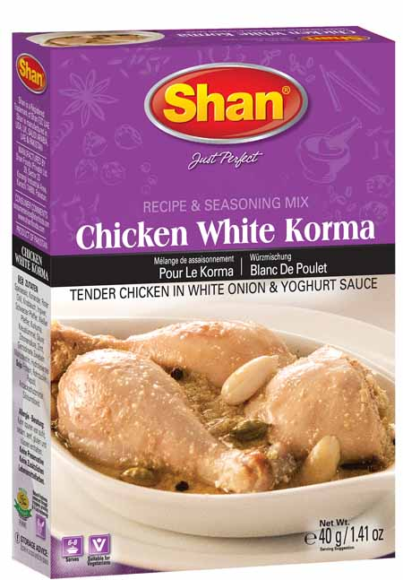 Chicken White Korma