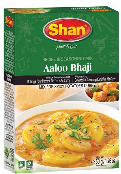 Vegetarian Aaloo Bhaji