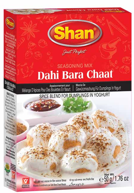Seasoning Dahi Bara Chaat