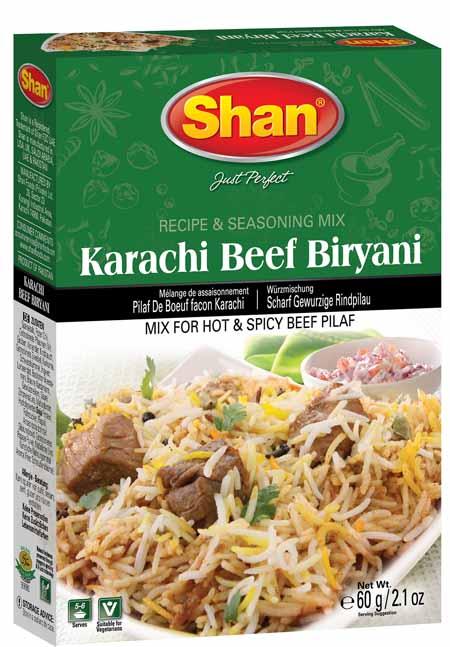 Karachi Beef Biryani